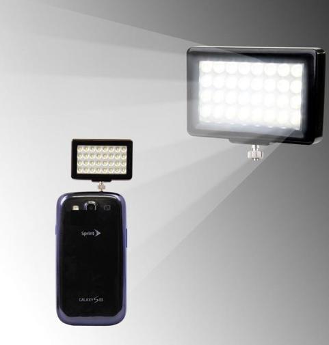 licht op smartphone